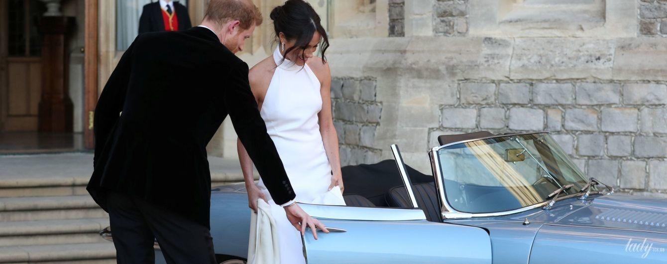 Второе свадебное платье: битва образов герцогини Кембриджской и Меган Маркл