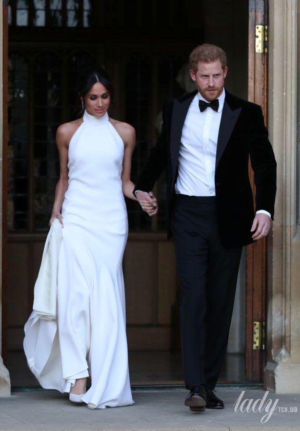 Второе свадебное платье Меган Маркл_3