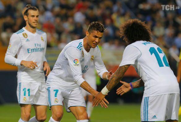 Радість футболістів Реала