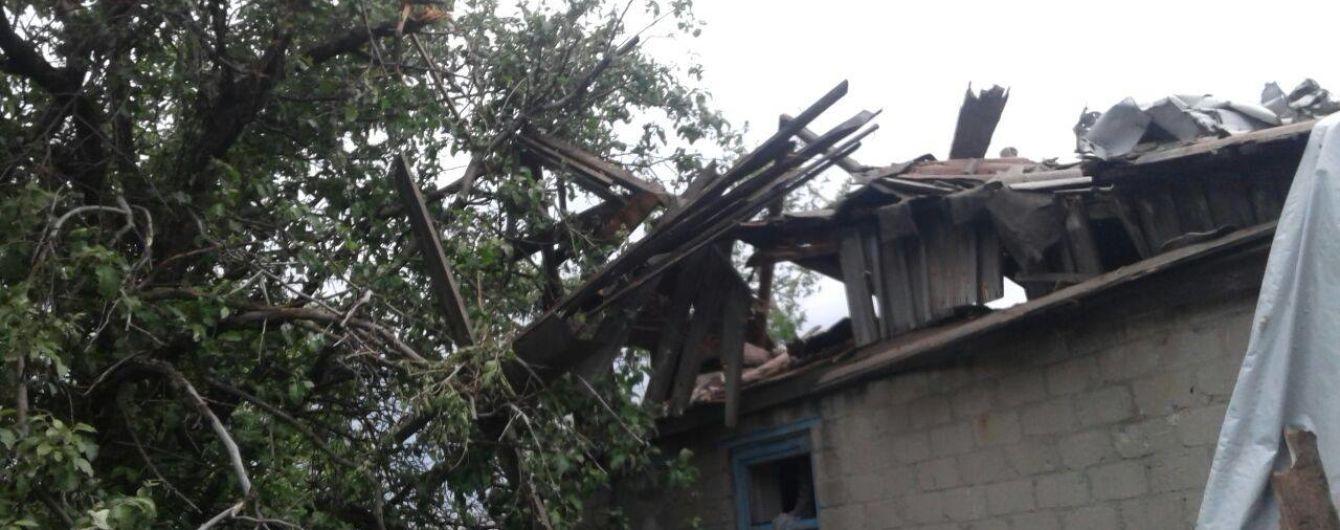 Боевики дважды обстреляли Зайцево. Штаб ООС опубликовал фото разрушений