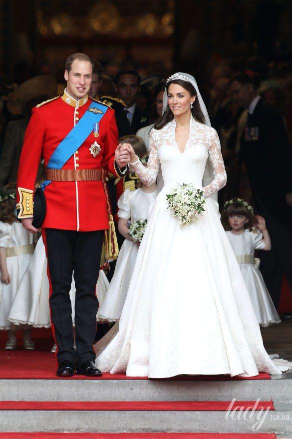 Свадьба принца Уильяма и герцогини Кембриджской Кэтрин