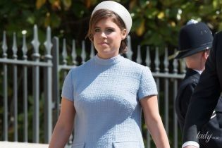 В мини-платье и туфлях с шипами: принцесса Евгения на королевской свадьбе