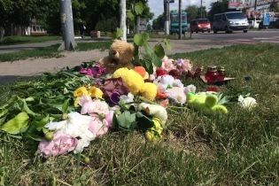 Суд взял под стражу водителя, который сбил детей в Борисполе