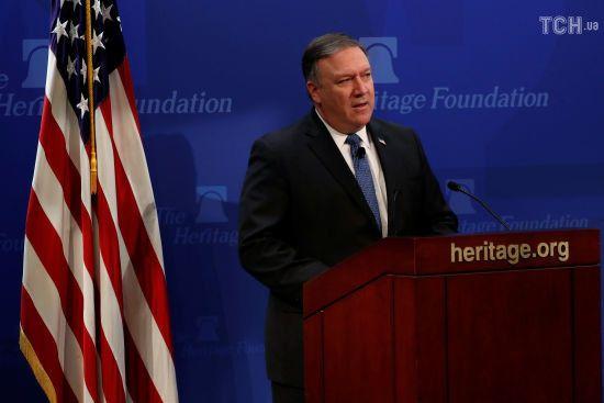 """Росія не змогла довести свою """"корисність"""" у питаннях України і Сирії - Помпео"""