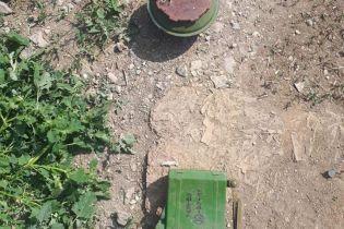 Возле Мариуполя на автодороге нашли российскую мину