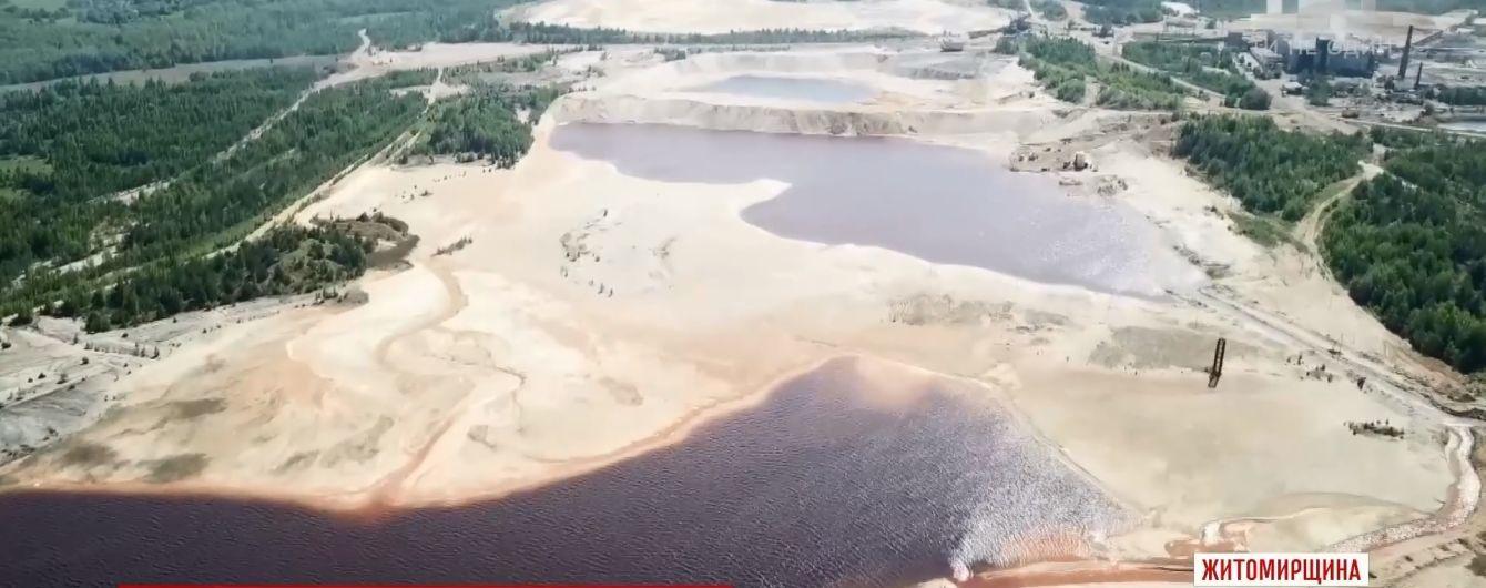На Житомирщине могут уничтожить три села ради крупнейшего в мире титанового карьера