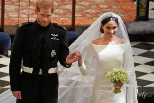 Сравниваем образы: эскиз свадебного платья Меган Маркл vs наряд герцогини Кембриджской
