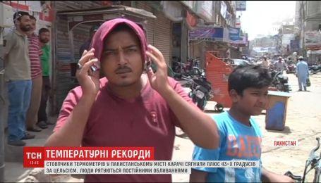 Пакистан страждає від аномальної спеки