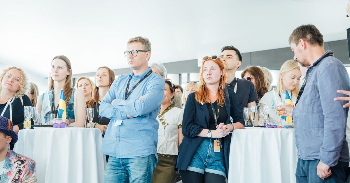 Презентация украинских проектов фильмов гостям Каннского фестиваля