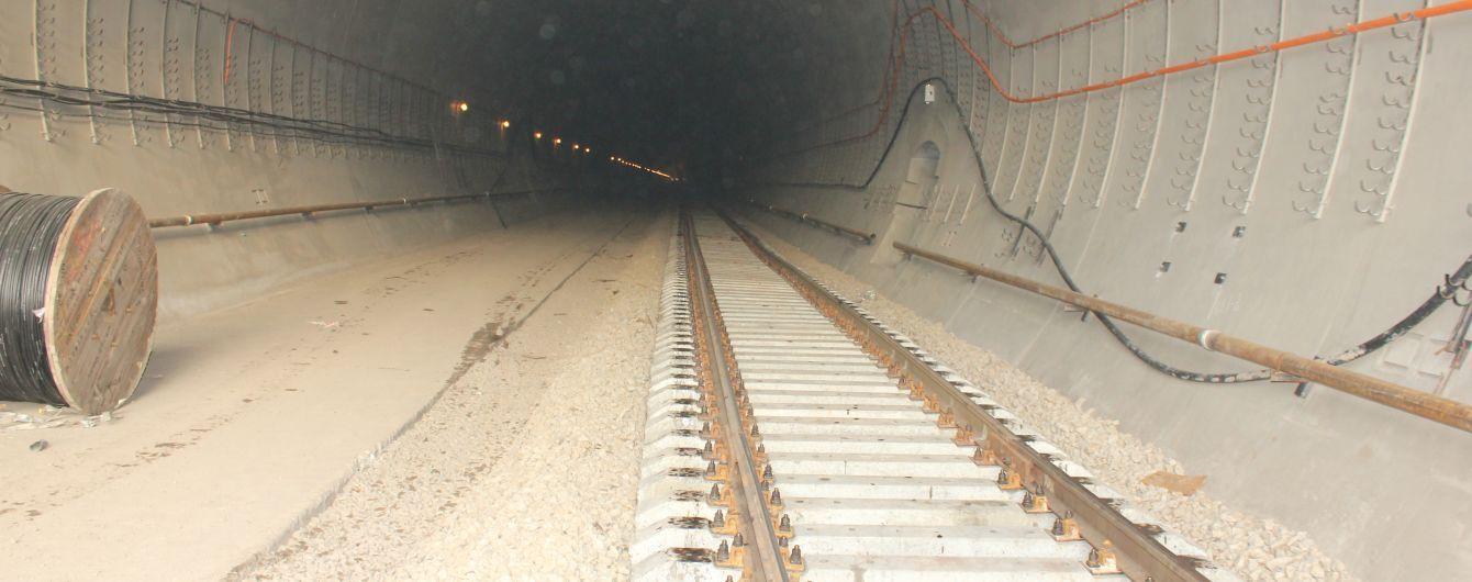 В Карпатах открыли Бескидский тоннель