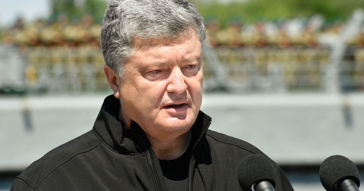 Порошенко ответил на предложение РФ относительно миротворцев на Донбассе