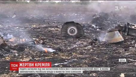 """Родичі жертв збитого над Донбасом """"Боїнга"""" звинувачують Кремль у смерті 298 людей"""