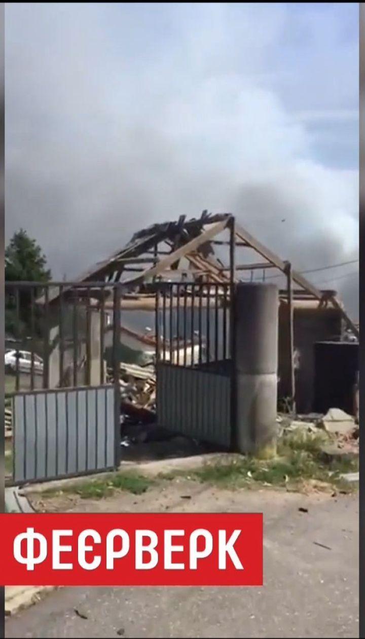 На пиротехническом складе в Испании произошел мощный взрыв