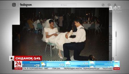 Мішель Обама показала дитячі фото та світлину з весілля з Бараком Обамою