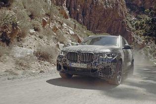 Новое поколение BMW X5 проверили в сложных погодных условиях