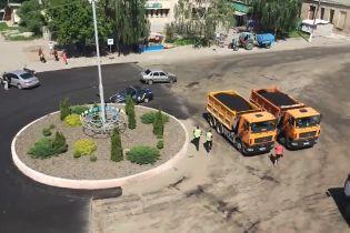 У центрі Ржищева дівчина влаштувала циркову гонитву з поліцією і стріляниною