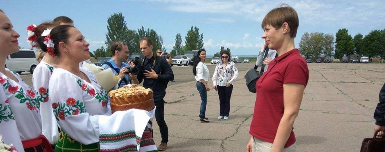Впервые за время войны лидер иностранного государства посетил Донбасс