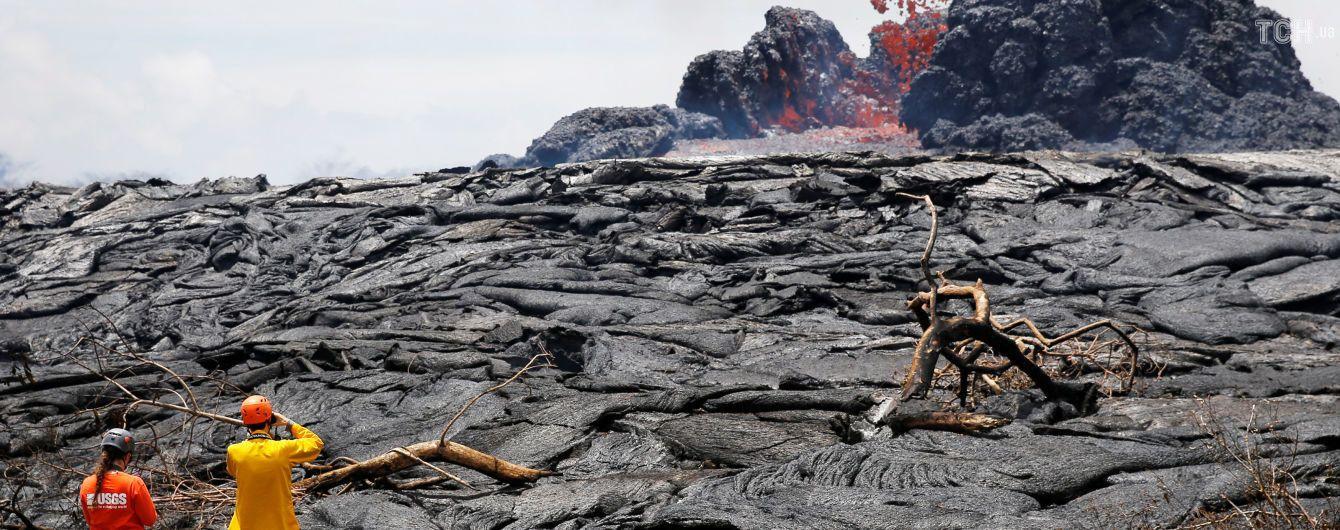 Лава з вулкану Кілауеа залила 14 квадратних кілометрів Гавайських островів