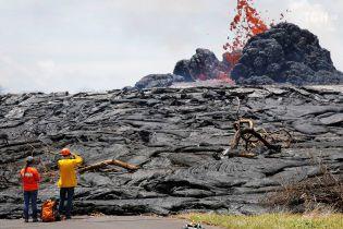 Лава из вулкана Килауэа залила 14 квадратных километров Гавайских островов