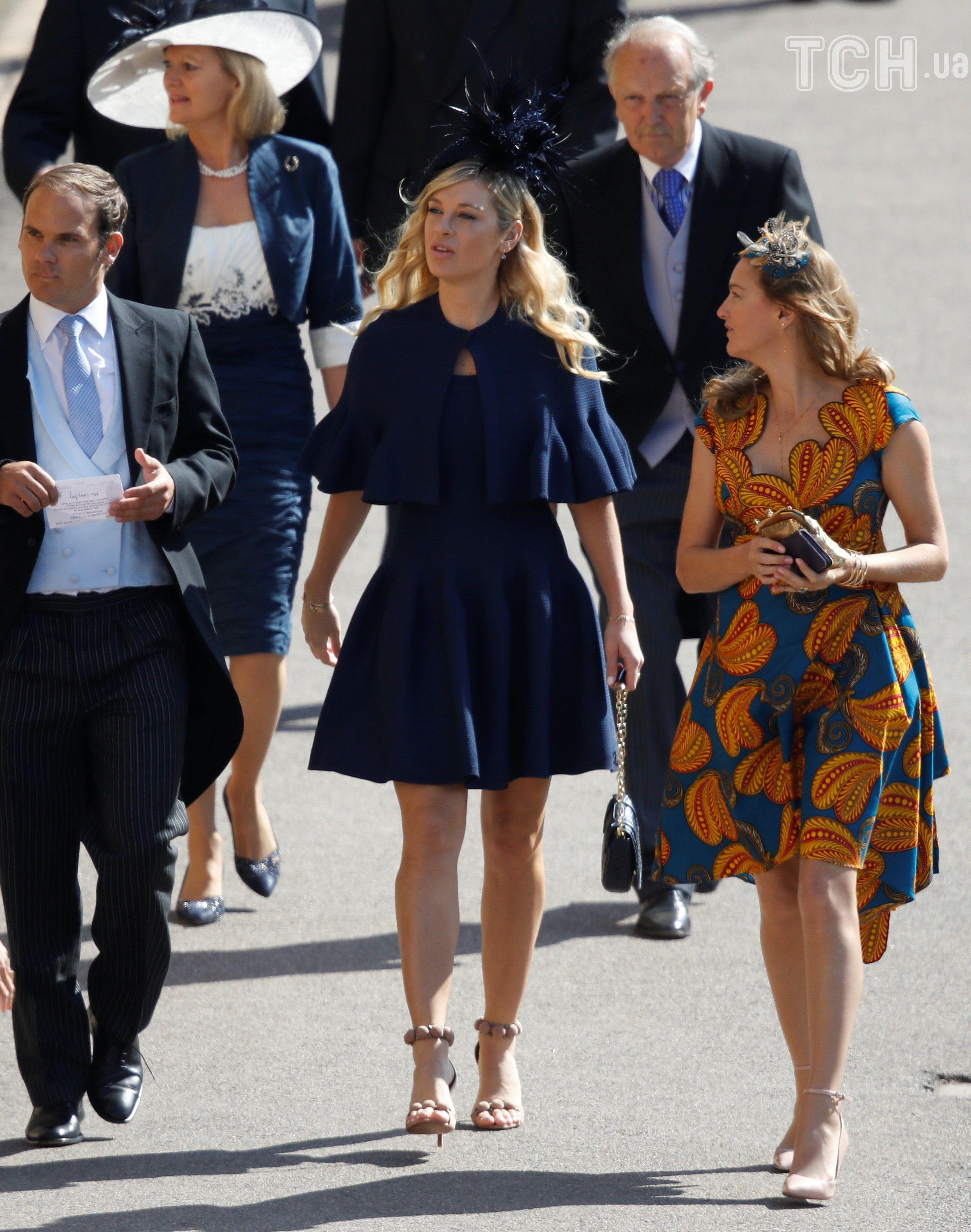 Челсі Деві на весіллі принца Гаррі