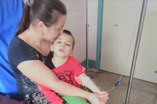 Допоможіть Назару пройти лікування у Китаї