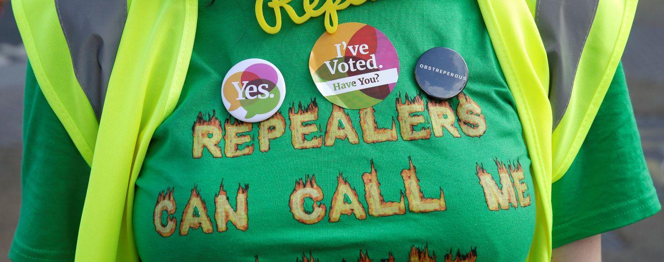 В Ирландии объявили официальные результаты референдума о легализации абортов