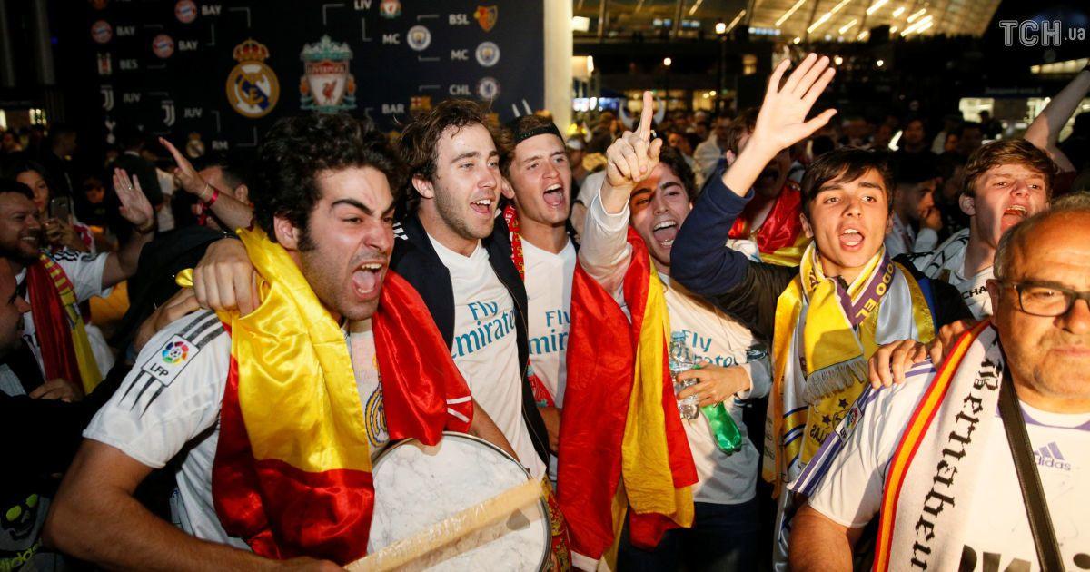 """Фанати """"Реала"""" і """"Ліверпуля"""" не стримують емоцій після фіналу"""