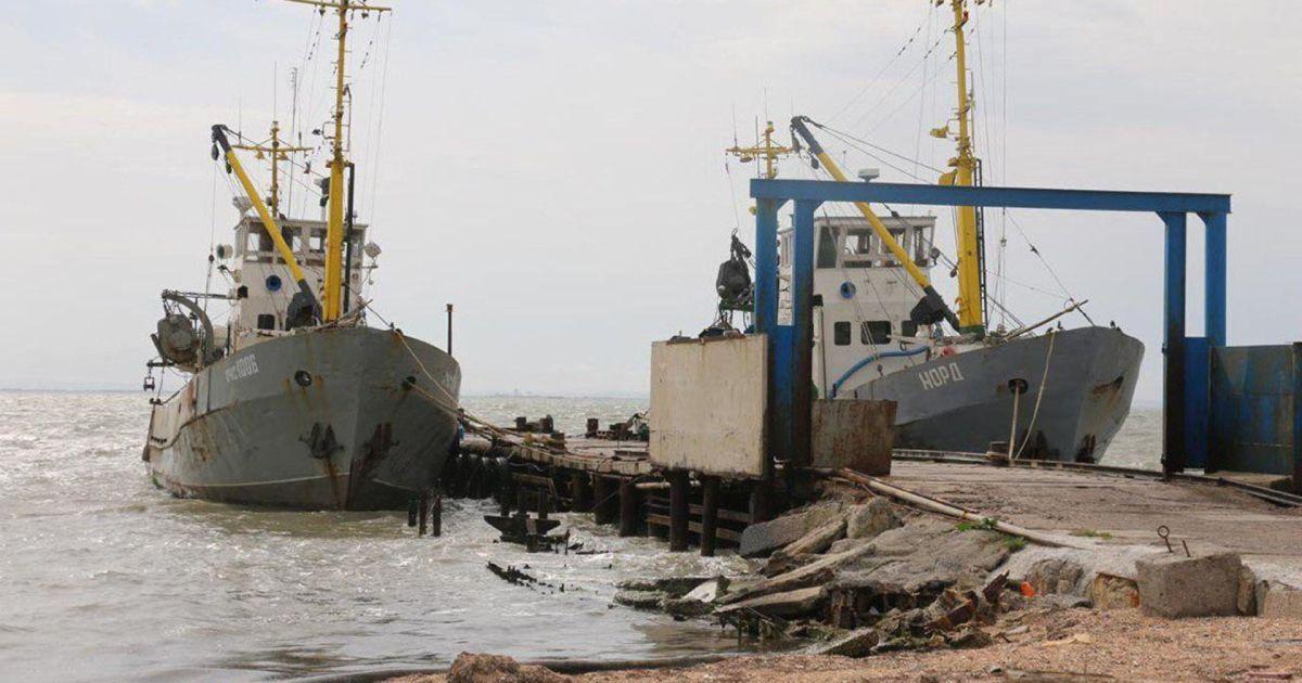 """Денисова хочет обменять моряков крымского """"Норда"""" на задержанных оккупантами украинских рыбаков"""