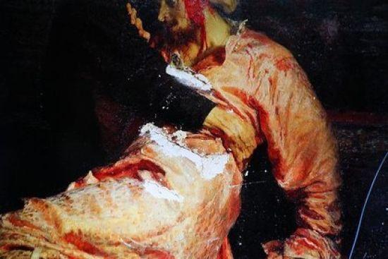 """""""Іван Грозний і син його Іван"""": у Москві розпочнеться суд над чоловіком, який пошкодивкартину Рєпіна"""