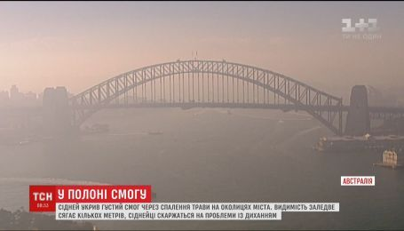 Через діяльність вогнеборців австралійський Сідней накрило густим чадним туманом