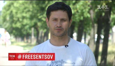 Ахтем Сеїтаблаєв підтримав ув'язненого колегу Олега Сенцова