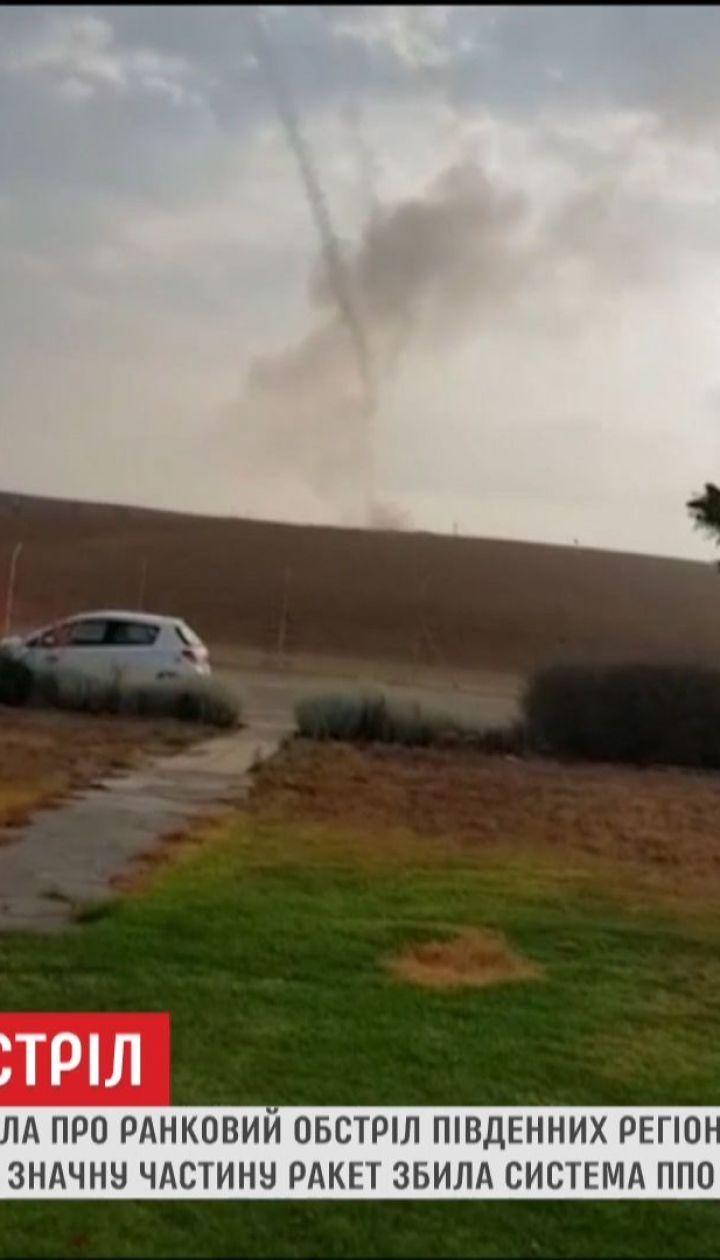 Власти Израиля заявили о минометном обстреле со стороны Сектора Газа