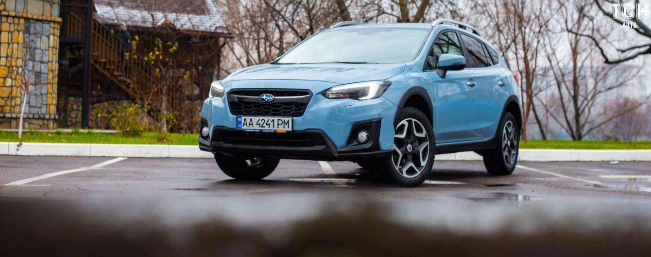 Как Subaru XV стал дамским угодником. Тест-драйв