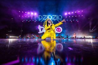 Мама Дзідзя вперше відвідала концерт сина в Україні і вийшла до нього на сцену