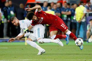 """""""Видно, что Салах первым схватил меня за руку"""": Рамос еще раз вспомнил скандальный эпизод в Лиге чемпионов"""
