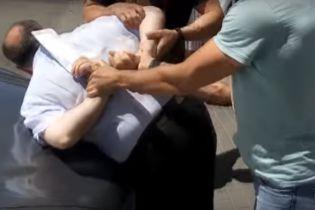 """СБУ показала відео затримання замовника """"вбивства"""" журналіста Бабченка"""