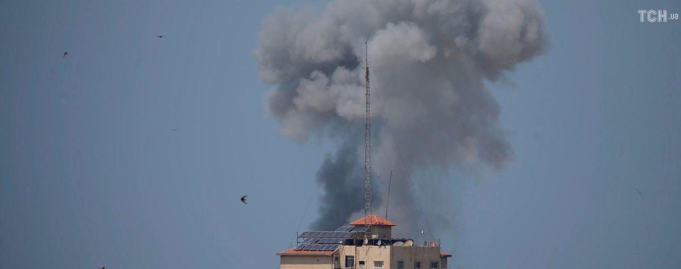 Ізраїль атакував цілі у Секторі Гази