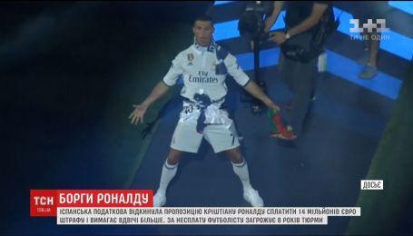 """Нападающий """"Реала"""" Криштиану Роналду может попасть за решетку"""