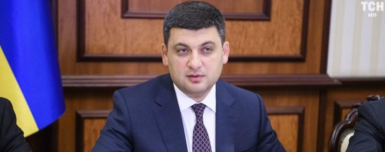 Премьер обещал усложнить жизнь нарушителям ПДД