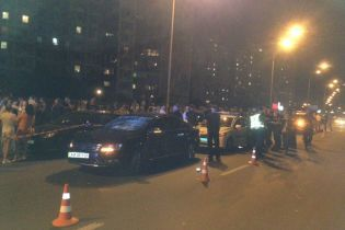 """ДТП с """"кортежем Порошенко"""": ребенка сбил полицейский автомобиль на спецзадании"""