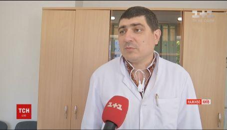 Медикам удалось стабилизировать состояние ребенка, пострадавшего во время ДТП в Киеве