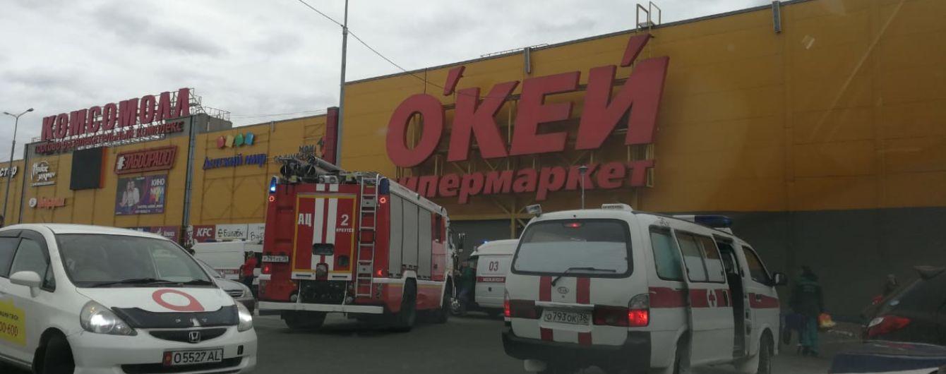 В Иркутске вспыхнул пожар в ТРЦ, пострадали восемь детей