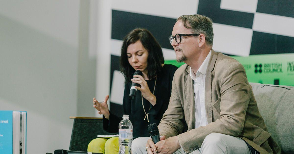 """""""Книжковий Арсенал"""", день 2: автор пісень Бйорк, VR та """"стіна"""" між Україною і Росією"""