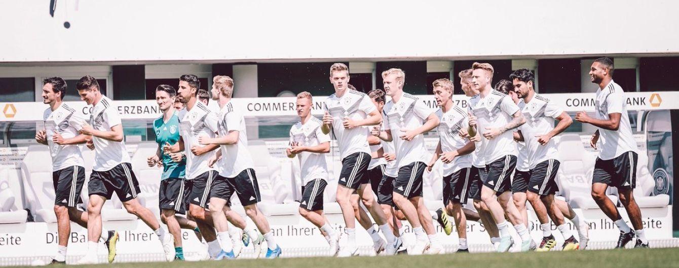 Сборная Германии объявила состав на ЧМ-2018
