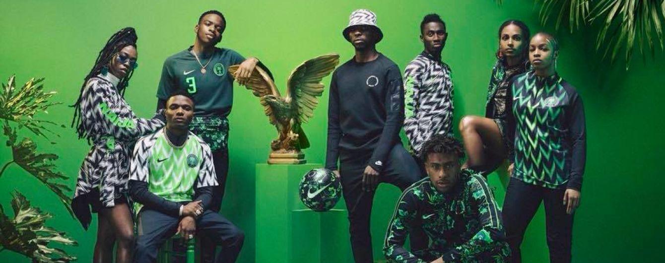 Форму сборной Нигерии раскупили за 15 минут после появления в продаже