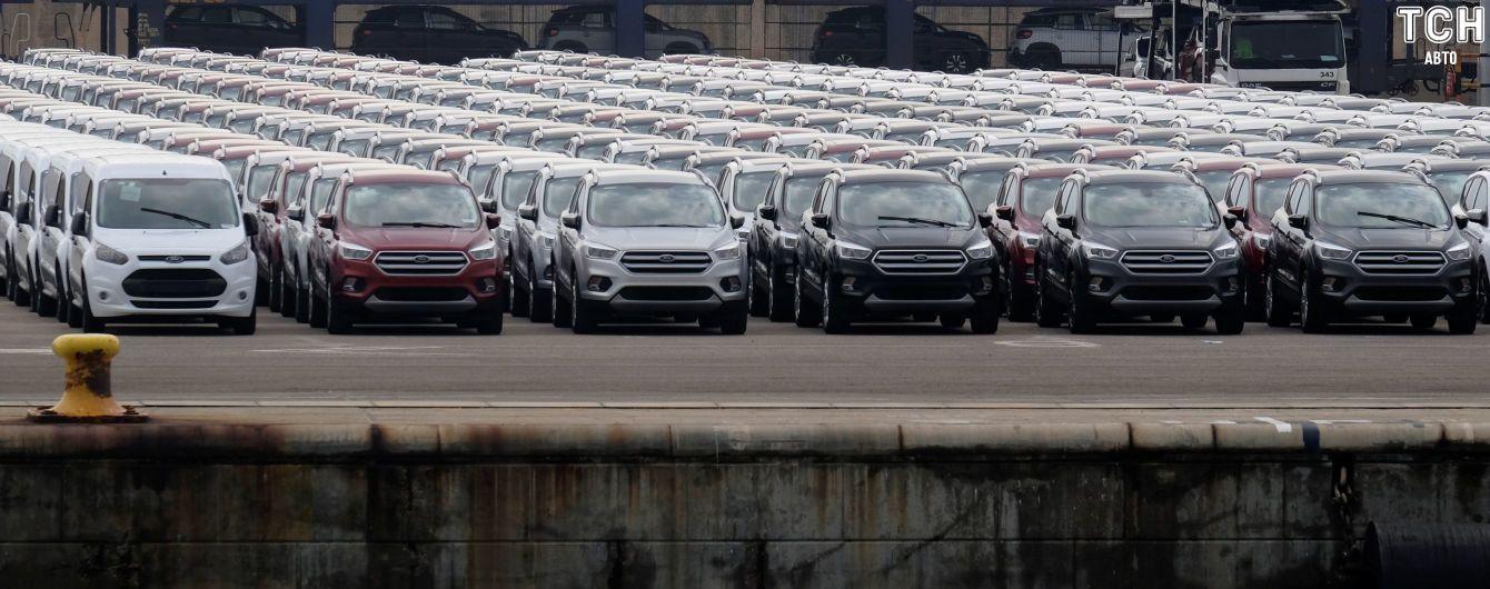Май оказался провальным для автомобильного рынка Украины. Инфографика