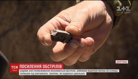 Враг в очередной раз обстрелял из крупнокалиберных гаубиц поселок Чермалык
