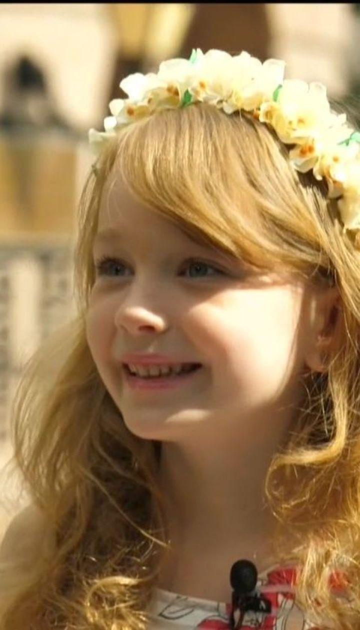 Семилетняя актриса из Киева зарабатывает 1500 гривен за съемочный день