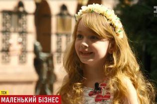 В Киеве 7-летняя девочка снялась уже в 30 фильмах и стала звездой кино