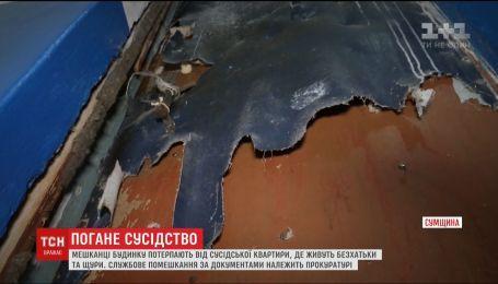 В Ахтырке жители дома страдают от квартиры прокурора